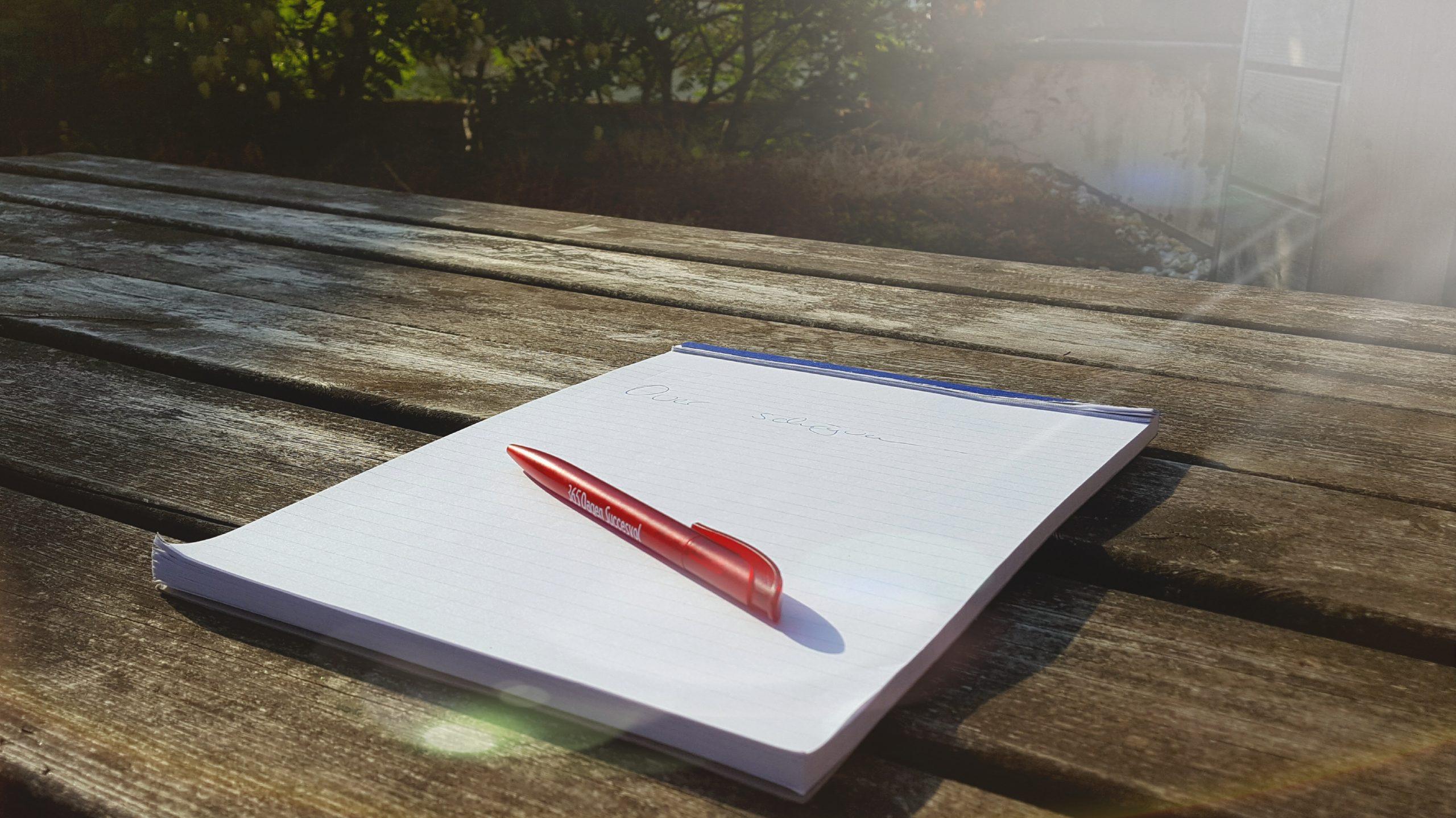 Over schrijven en openheid